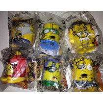 Simpsons Set 6 Figuras Super Heroes Burger King 2013 Vv4