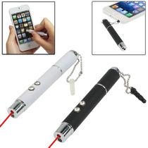 3 En 1 Tactil Stylus + Apuntador Laser + Lampara Led / Omm