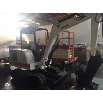 Excavadora Bobcat 331 Trabajando Y Excelente Condicion