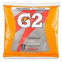 14 Sobres Gatorade G2 En Polvo Para 6 Gal C/u Ponche Frutas