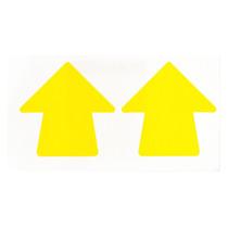 Cinta Para Marcar Pisos Flecha Vinilo Sólido Amarillo Brady