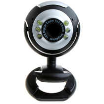 Cámara Web Hd Con Micrófono Zoom 10x 6 Leds Alta Resolución!