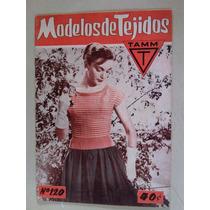 Modelos De Tejidos Revista Antigua 1957 Corte Y Confeccion