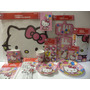 Hello Kitty Fiestas Kit Mantel Vasos Platos Invitaciones