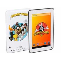 Tablet Niños 7 Pulgadas Looney Toons Parental Control
