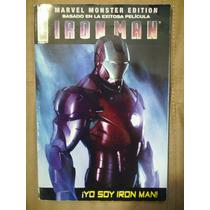Iron Man Comic De La Pelicula Marvel Monster Edition Op4