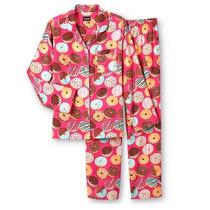 Joe Boxer Set Pijama Dama Donas Franela Talla Xl