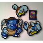 Paquete De Figuras De Pokemon Hechas De Perler Beads