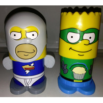 Simpsons Pie Man & Cupcake Kid Super Heroes Bk 2013 Vv4