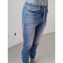 Pantalon Jogger Entubado American Eagle Talla S Nuevo 100%