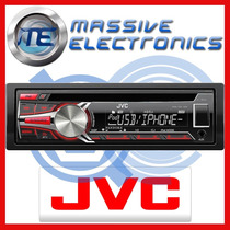 Autoestereo Jvc Kd-r650 Iphone Android Usb 4sal Bocinas 2014