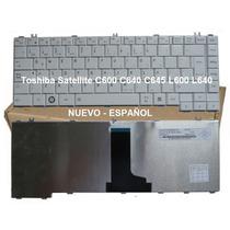 Teclado Toshiba C600 C645 C640 L600 L630 L645 L740 Blanco