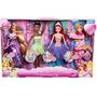 Un Especial Princesa Día Disney Doll Set Por Mattel