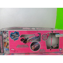Scooter Monster High Patin Del Diablo, Completamente Nuevo!!