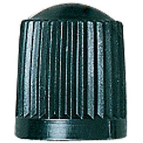 Casquillo De Válvula De Plástico Negro (caja De 100)