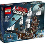 Lego Movie Metalbeard's Sea Cow 70810 Barco Pirata