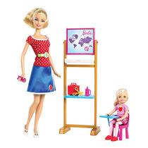 Barbie Quiero Ser Maestra Y Barbie Quiero Ser Niñera Vbf