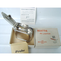 Antiguo Encendedor De Pipas Beattie Jet Lighter Made In Usa