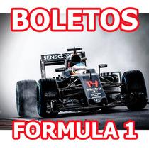 Boletos Formula 1 F1 Gran Premio De Mexico Foro Sol Viernes
