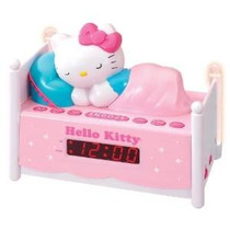 Licencia Oficial De Hello Kitty Kt2052 Alarma Radio Reloj Co