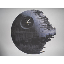 Reloj De Pared Estrella De La Muerte Star Death