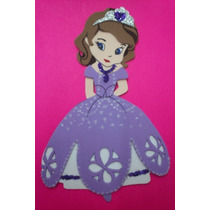 Figuras De Foamy Personaje Princesa Sofia Lote 30 Piezas