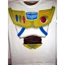 Playera Buzz Light Year Toy Story Aerografia