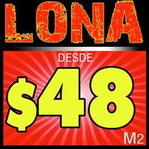 Impresion Digital Lonas Publicitarias $48 M2 Vv4