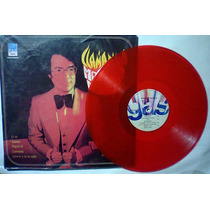 Manolo Muñoz Llamarada Lp Color Rojo Impecable Muy Raro Op4