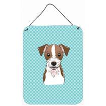 Tablero De Ajedrez Azul Jack Russell Terrier Pared O Puerta