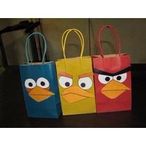 Bolsas Para Fiestas Infantiles De Angry Birds