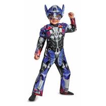 Disfraz Optimus Transformers 3/4 Años Original Entrega Inmed