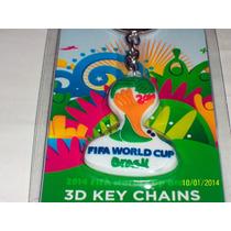 Llavero Copa Mundial Fifa Brasil 2014-tercera Dimension