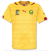 Jersey Puma Camerun Local Visita Brasil 2014 Original C/num