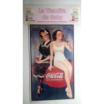 Anuncio Cartel Coca Cola Lamina Pinups Letrero Pin Ups