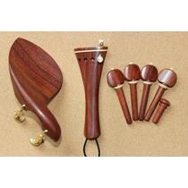 Accesorios Para Violín De Madera Rosewood. Vbf