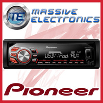Autoestereo Pioneer Mvh-x165ui Usb Mp3 Android Iphone Ipod