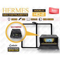 Detector De Metales Hermes Hd-2 Pro 8 Metros De Profundidad