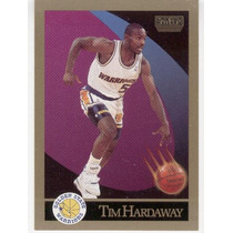 1990 - 91 Sky Box Tim Hardaway Rc Golden State Warriors