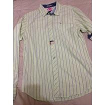 Camisa Para Caballero Hilfiger Denim,nueva Talla M 780$ Hm4