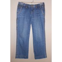 Tommy Hilfiger! Jeans Tipo Capri, Strech, Talla 2, Chica