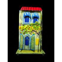 Lampara Decorativa Vidrio Cristal Soplado Fachada Francesa