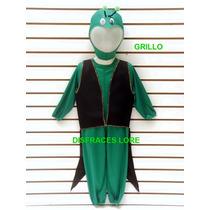Disfraz De Grillo Disfraces Grillito Cantor Primavera Niños