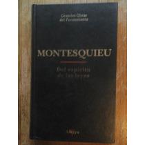 Del Espíritu De La Leyes - Montesquieu