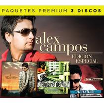 Alex Campos (paquete Ed. Especial 3 Cd)