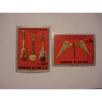 Charango Y Zampoñas Timbres De Bolivia (precio Por El Par)