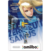 Figura Amiibo Zero Suit Samus - New Nintendo 3ds Xl - Wii U