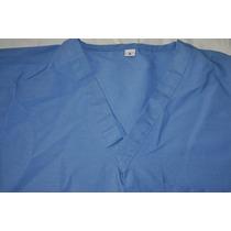 Pijama Quirúrgica Azul, Doble Vista, Talla S