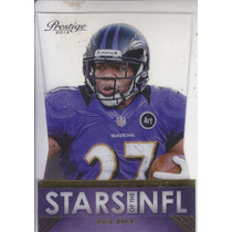 2013 Prestige Stars Of The Nfl Acetate Die Cut Ray Rice Rb