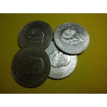 Hidalgo 10 Pesos Plata Ley 0.900 Fecha 1955 Y 1956 Bonitos